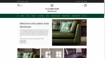 Welcome - The Leather Suite Warehouse