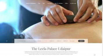 5 Star Hotels in Udaipur - Luxury Hotel Lake Pichola - The Leela Palace Udaipur