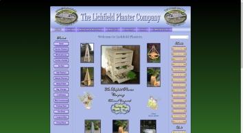 The Lichfield Planter Company manufacture Planters, Garden Obelisks, window boxes