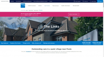 Care Home in Broadstone, Dorset    The Links Care Home   Bupa UK