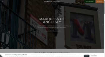Marquess of Anglesey | Covent Garden pub near the Royal Opera House