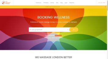 Mobile Massage in London - The Massage Rooms