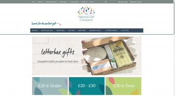 The Natural Gift Company - Eco Friendly Gifts