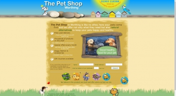 The Pet Shop Worthing - The Pet Shop Worthing - offering an extensive range of pet food and accessories