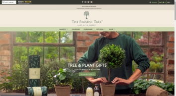 Freshly Delivered Tree Gifts   The Present Tree   Luxury Gifts