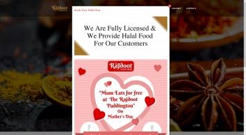 The Rajdoot - Indian Restaurant