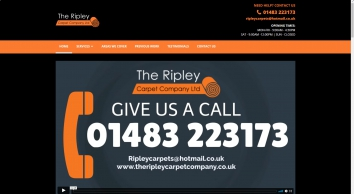 A reputable flooring company, The Ripley Carpet Company