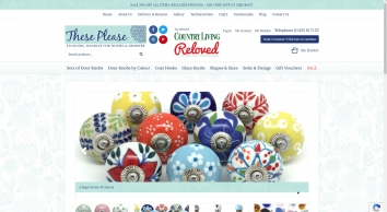 Ceramic Door Knobs, Drawer Knobs, Kitchen Cupboard Door Knobs | These Please
