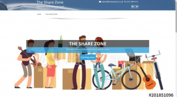 The Share Zone - Sharing with Friends and people in need