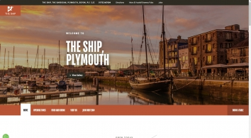 Welcome to The Ship, Plymouth