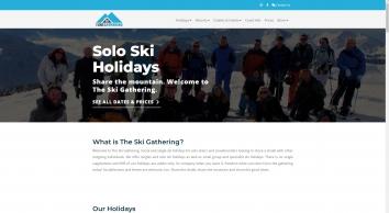 Singles Ski Holidays - Solo Snowboarding | The Ski Gathering