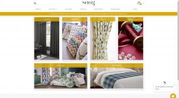 Made To Measure Curtains, Fabrics, Cushion and More! - TheSnugCo.com