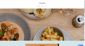 Tailend homepage