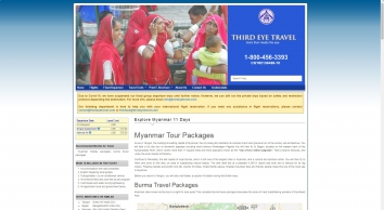 Myanmar Tour Packages, Burma Honeymoon Holiday Travel and Tours