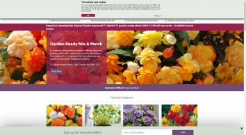 Buy Plants, Seeds, Fruit Trees & Seed Potatoes | Thompson & Morgan