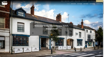 Three Swans Hotel, Eatery & Coffee House, Hungerford