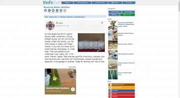 Reusing Water Bottles | ThriftyFun