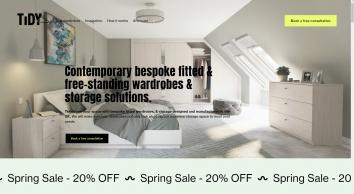 Tidy Bedrooms