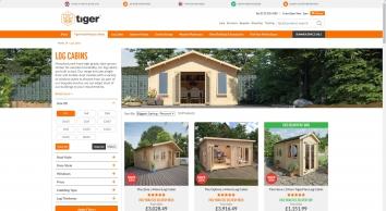 Log Cabins | Garden Log Cabins For Sale  | Tiger Sheds