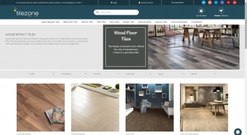 Wood Effect Tiles | Cheap Wood-effect flooring | Tilezone