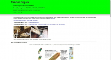 Repairing Structural Timbers using epoxy resins