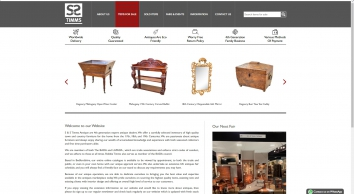 S & S Timms - Antique furniture dealer online gallery for quality tables, chairs and dressers in Bedfordshire