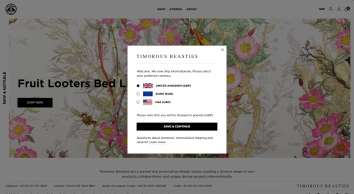 Timorous Beasties, Contemporary Fabrics, Wallpapers, Cushions, Lampshades & Rugs
