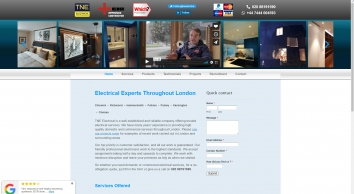 Electrician for Chiswick, Putney, Chelsea, Kensington, Richmond, Fulham | TNE Electrical