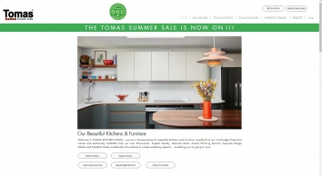 Classic  Kitchens with a Modern Twist from Tomas Kitchen Living