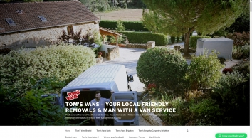 Tom\'s Vans - Your Local Man and Van Removals Service
