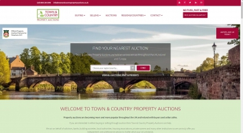 Connect-UK, Town and Country Property Auctions