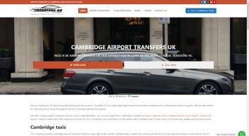 Cambridge Airport Transfers UK - Cambridge Airport Taxi