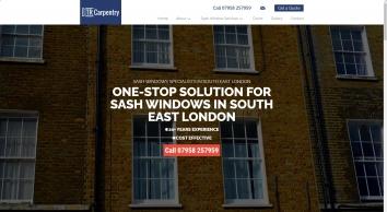 Sash Windows South East London | TR Carpentry