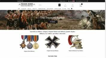 The Treasure Bunker Militaria Shop