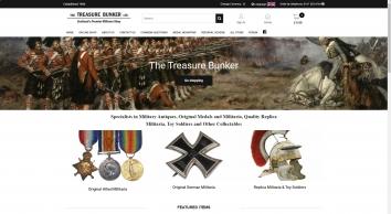 The Treasure Bunker Militaria Shop