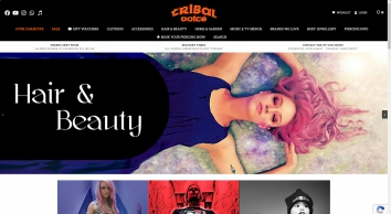 Tribal Voice | Emo,Goth,Punk clothing,body piercing jewellery,contact lenses and gifts