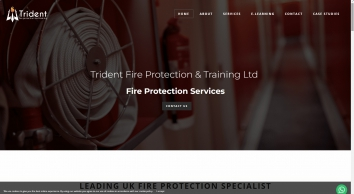 Fire Protection Services - Trident Fire Protection & Training Ltd