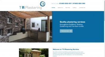 TR Plastering services