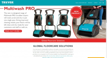 Industrial & Commercial Floor Cleaning Machines - Truvox International