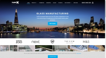 Toughened Glass | Leading UK Manufacturers & Suppliers | TuffX Glass