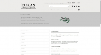 Tuscan Foundry Products