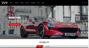 TVR -  The Official Home of TVR