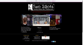 Two Idiots Trendy Indian Restaurant