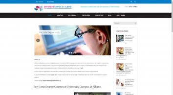 Part Time Business Degree Courses | University Campus St Albans