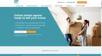 Online Estate Agents - Sell Your House Fast