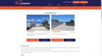 UK Storage Company - Plymouth