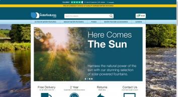 Indoor & Outdoor Water Features & Fountains - UK Water Features