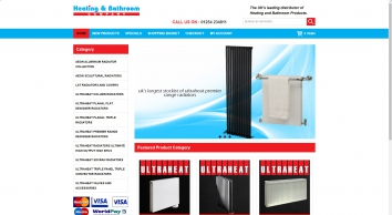 Heating & Bathroom Company - Ultraheat Radiators