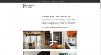 Uncommon Projects Ltd