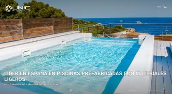 UNIC POOLS® > Piscinas Ligeras
